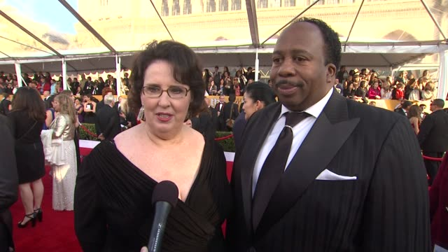 INTERVIEW Phyllis Smith Leslie Baker on what it means to them to celebrate with their peers how they feel about The Office coming to an end at 19th...