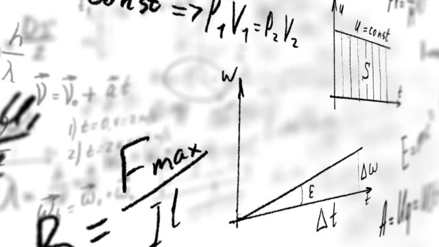 physical calculations and formulas - e=mc2 stock videos and b-roll footage