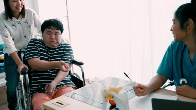 physical disability - cerebral palsy stock videos & royalty-free footage