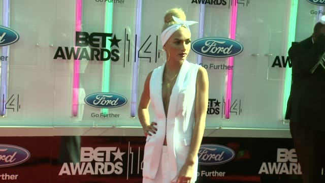 pia mia at the 2014 bet awards on june 29 2014 in los angeles california - bet awards stock videos and b-roll footage