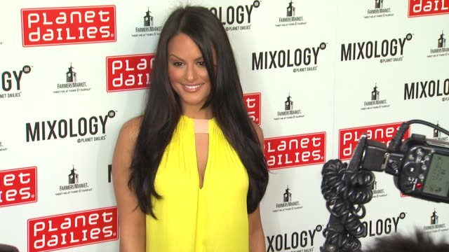 Pia Toscano at Planet Dailies Mixology 101 Grand Opening on 4/5/12 in Los Angeles CA
