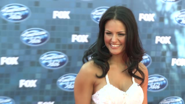 Pia Toscano at the Fox's 'American Idol 2011' Finale Results Show at Los Angeles CA