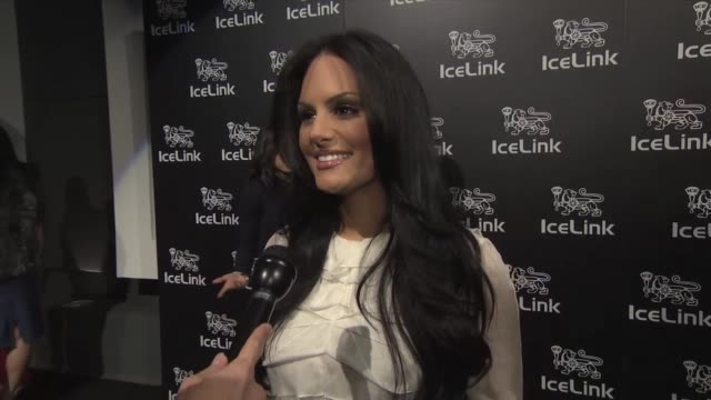 Pia Toscano on life after America Idol at IceLink Launch Event in Los Angeles CA on 1/11/12