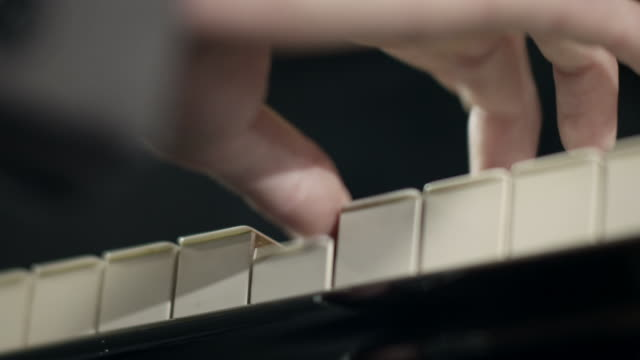 pianist composing music - classical stock videos & royalty-free footage