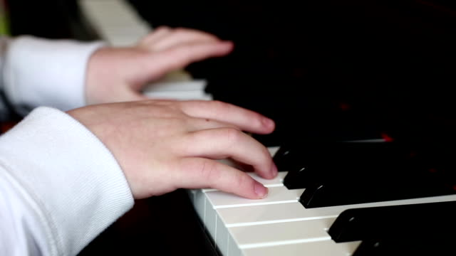 pianist - piano key stock videos & royalty-free footage