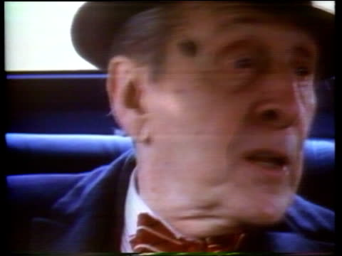 pianist vladimir horowitz makes comeback at the age of 82; usa: new york: new york city: int car cms vladimir horowitz and wife wanda toscanini in... - sold out stock videos & royalty-free footage