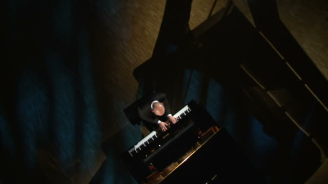 hd crane: piano concert - pianist stock videos & royalty-free footage