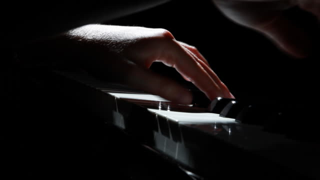 piano hands - piano stock videos and b-roll footage