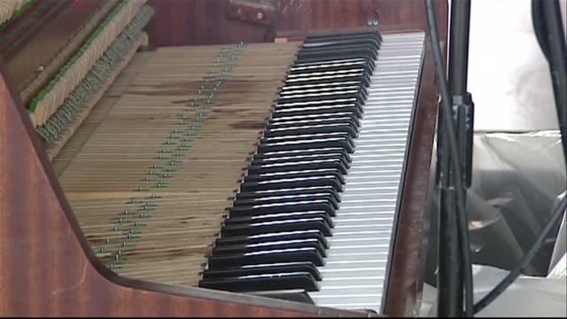 piano keys - piano key stock videos & royalty-free footage