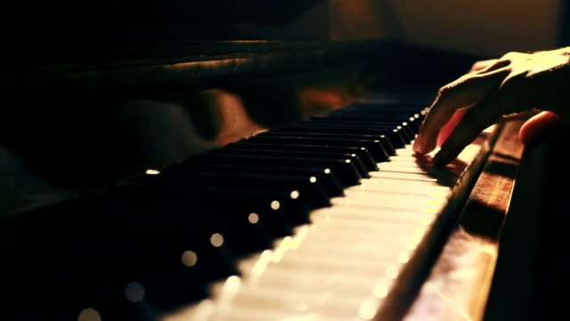 piano pianist concert playing - piano stock videos & royalty-free footage