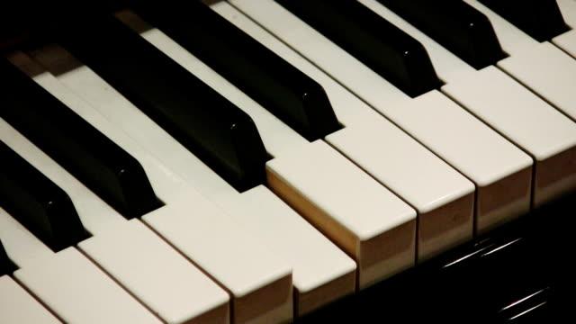 vídeos y material grabado en eventos de stock de piano (hd - tecla de piano