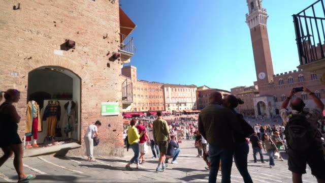piazza del campo - campo stock videos & royalty-free footage