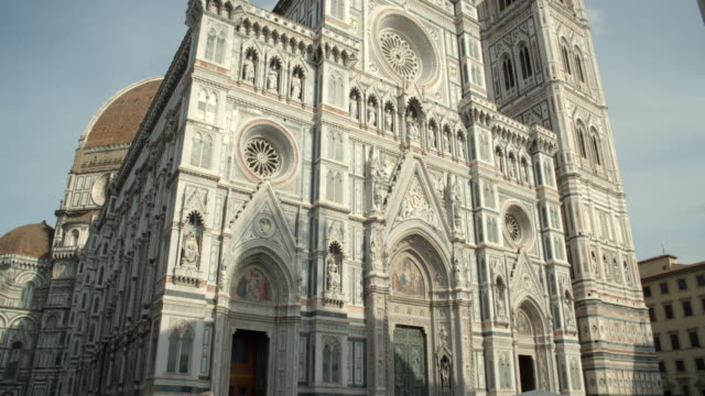 piazza del duomo / florence, italy - kathedrale stock-videos und b-roll-filmmaterial