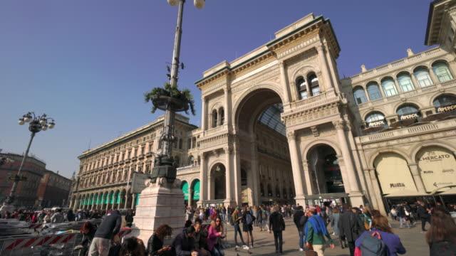 Piazza del Duomo in Milan, Italy