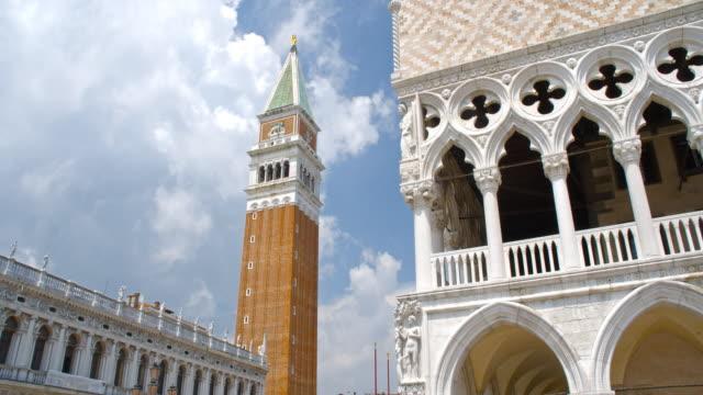 vídeos y material grabado en eventos de stock de piazza san marco, venecia - catedral