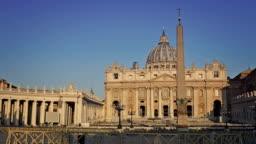 Piazza San Pietro. Vatican, Rome, Italy