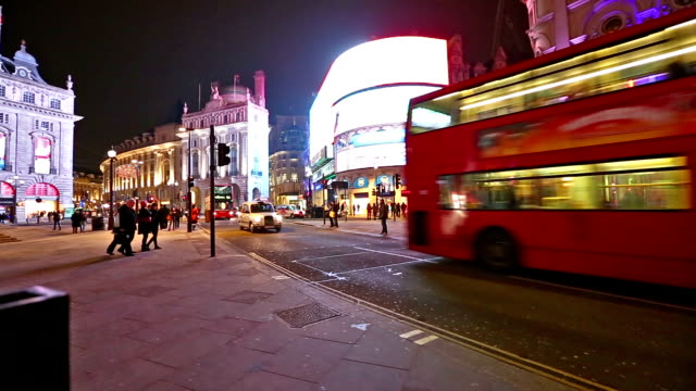 hd: piccadilly circus in london - piccadilly circus stock videos and b-roll footage