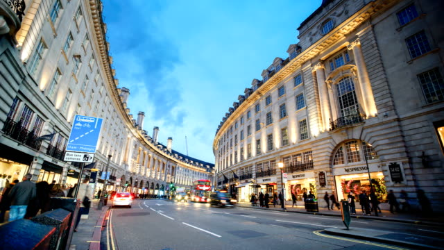 Piccadilly Circo, Londra, Inghilterra, Time-lapse