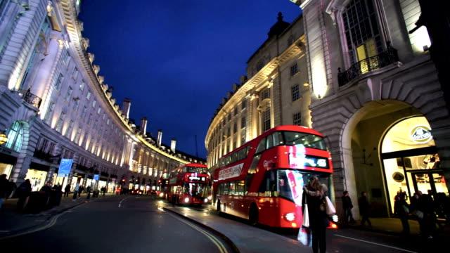 ピカデリーサーカス、ロンドン,英国 - 線路のポイント点の映像素材/bロール