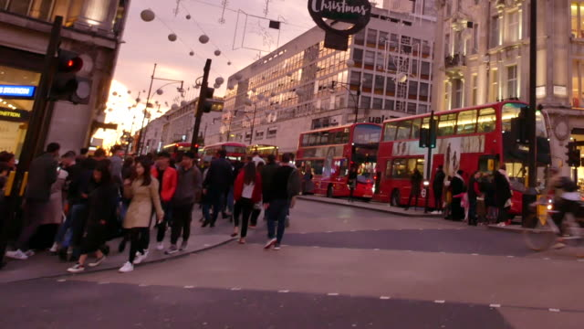 piccadilly circus oxford & regent street, london, england using panning - pedestrian crossing stock videos & royalty-free footage