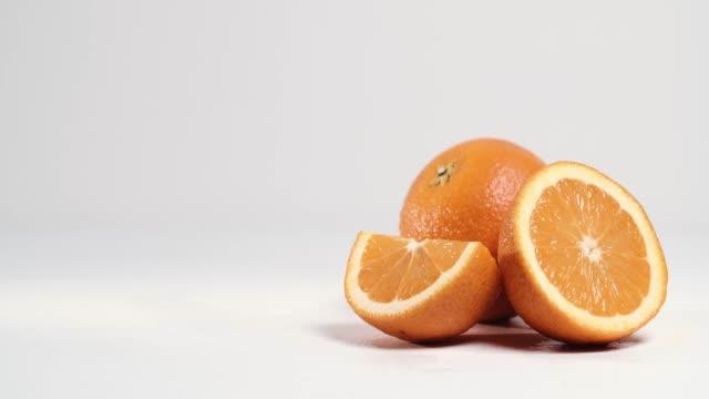 Picked orange fruits