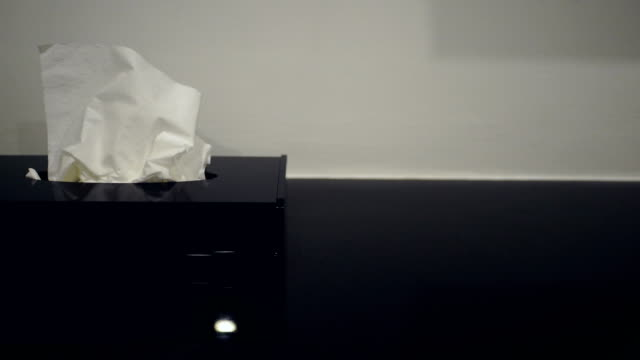 Picked up a tissue