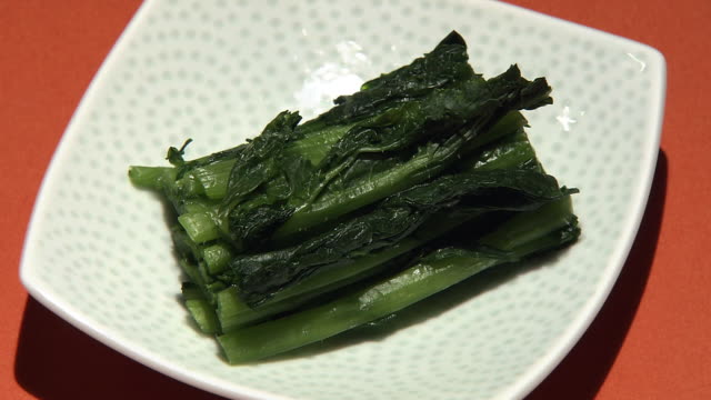 pickled leaf mustard called karashinazuke, japan - pickled stock videos and b-roll footage