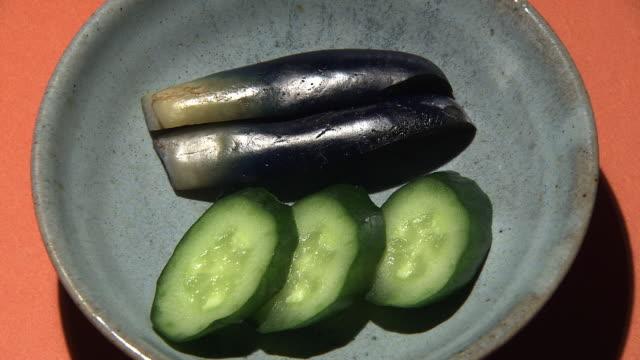 Pickled Vegetables Called Nukazukeed, Japan