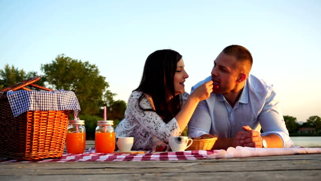picnic on nature - hamper stock videos & royalty-free footage