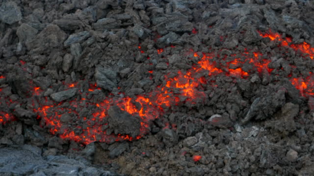 pico do fogo: lava flow - lava stock videos & royalty-free footage