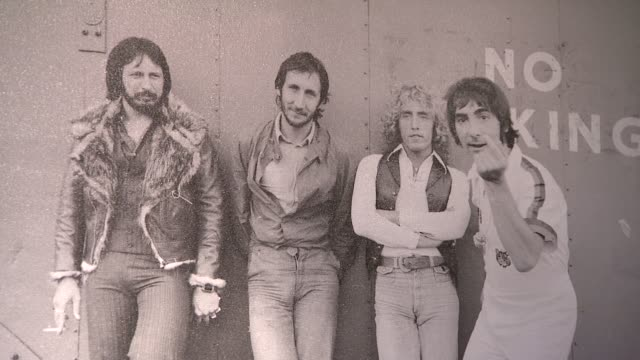 A picture of The Who at the Spinal Tap Announce Classic Rock Roll of Honour Nominations at London England