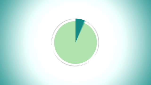 pie chart indicated 50 percent, infographics circle graph - bar graph stock videos & royalty-free footage