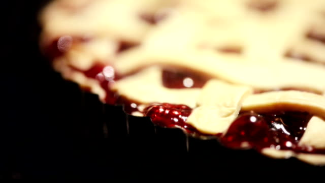 pie in oven - berry fruit stock videos & royalty-free footage