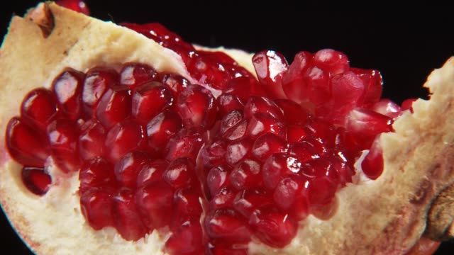 piece of pomegranate - juicy stock videos & royalty-free footage