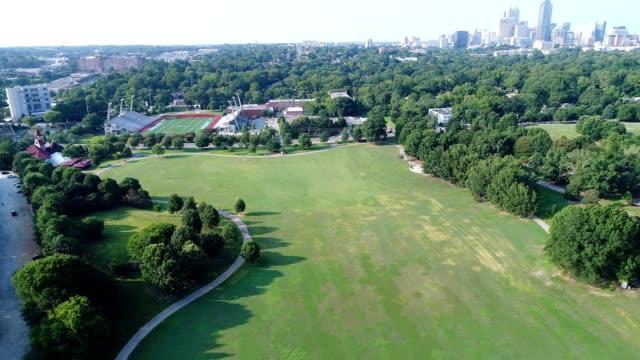 piedmont park in atlanta - atlanta georgia stock videos & royalty-free footage