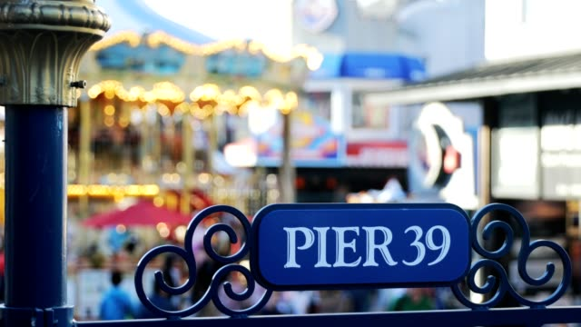 stockvideo's en b-roll-footage met pier 39 - pier 39