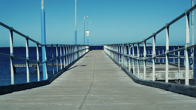 Pier in Perth on the Western Australian Coast