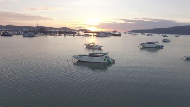pier in phuket, thailand - phuket stock videos & royalty-free footage