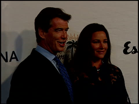 pierce brosnan and keely shaye smith at the oceana celebration of its 2006 partners award gala at esquire house 360 in beverly hills california on... - keely shaye smith and pierce brosnan stock videos & royalty-free footage