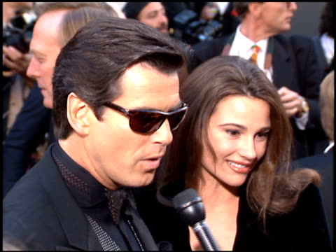 Pierce Brosnan at the 1996 People's Choice Awards at Universal Studios in Universal City California on March 10 1996