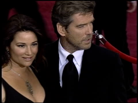 Pierce Brosnan at the 2004 Academy Awards Arrivals at the Kodak Theatre in Hollywood California on February 29 2004