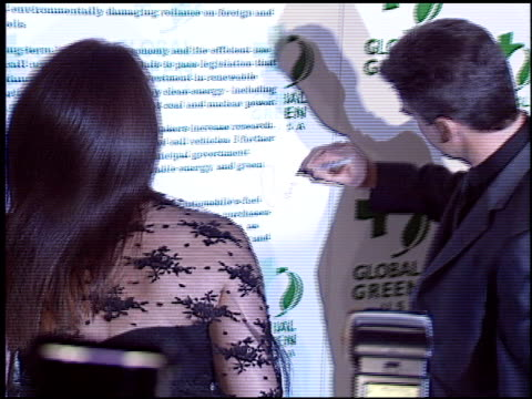 pierce brosnan at the 2004 global green millennium awards at the st regis hotel in los angeles california on march 24 2004 - pierce brosnan stock videos and b-roll footage