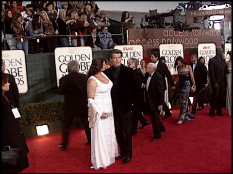 Pierce Brosnan at the 2006 Golden Globe Awards at the Beverly Hilton in Beverly Hills California on January 16 2006