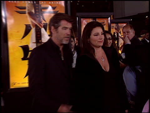 Pierce Brosnan at the 'Kill Bill' Premiere at Grauman's Chinese Theatre in Hollywood California on September 29 2003