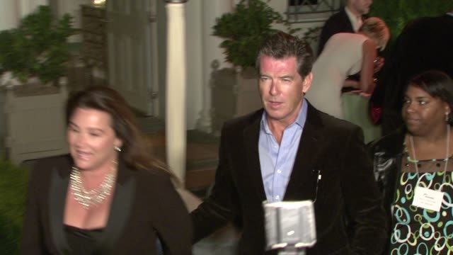 Pierce Brosnan at the Oceana's Annual Partners Award Gala Honoring Former President Bill Cli at Los Angeles CA