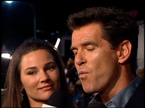 Pierce Brosnan at the Premiere of 'The World is not Enough' on November 8 1999