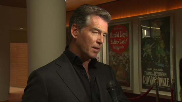 Pierce Brosnan at the 'The Greatest' Premiere at Hollywood CA