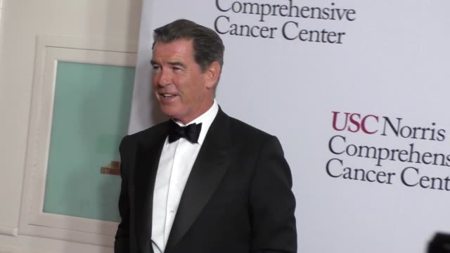 Pierce Brosnan at the USC Norris Comprehensive Cancer Center Gala at the Beverly Wilshire Hotel in Beverly Hills at Celebrity Sightings in Los...