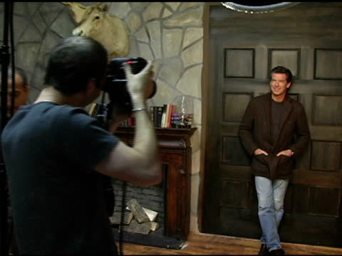 Pierce Brosnan of 'The Matador' at the 2005 HP Portrait Studio Presented by WireImage at HP Portrait Studio in Park City Utah on January 22 2005
