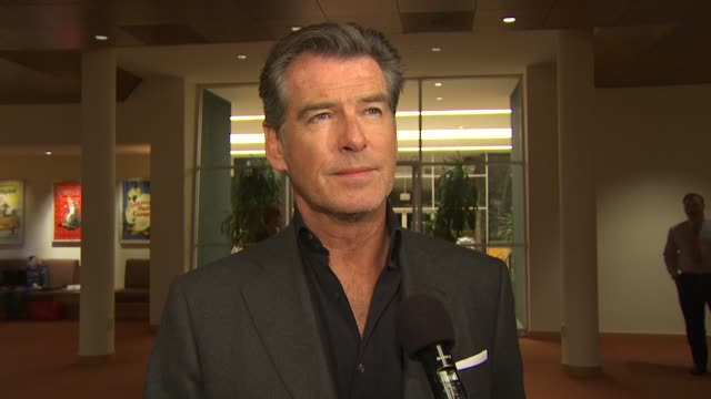 Pierce Brosnan on why he wanted to be part of this film on how he prepared himself to portray someone who's experiencing such grief on the themes of...